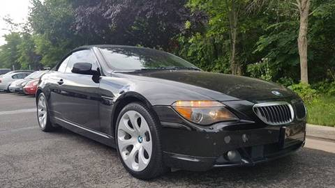 2006 BMW 6 Series for sale at M & M Auto Brokers in Chantilly VA