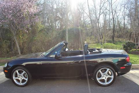 2003 Mazda MX-5 Miata for sale at M & M Auto Brokers in Chantilly VA