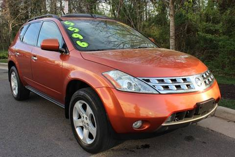 2004 Nissan Murano for sale at M & M Auto Brokers in Chantilly VA