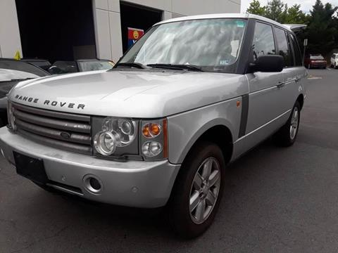 2004 Land Rover Range Rover for sale at M & M Auto Brokers in Chantilly VA