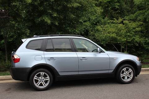 2005 BMW X3 for sale at M & M Auto Brokers in Chantilly VA
