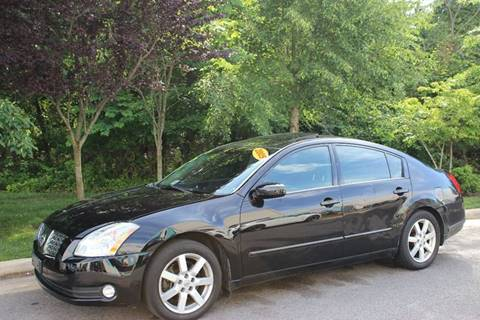 2005 Nissan Maxima for sale at M & M Auto Brokers in Chantilly VA