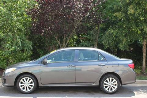 2010 Toyota Corolla for sale at M & M Auto Brokers in Chantilly VA