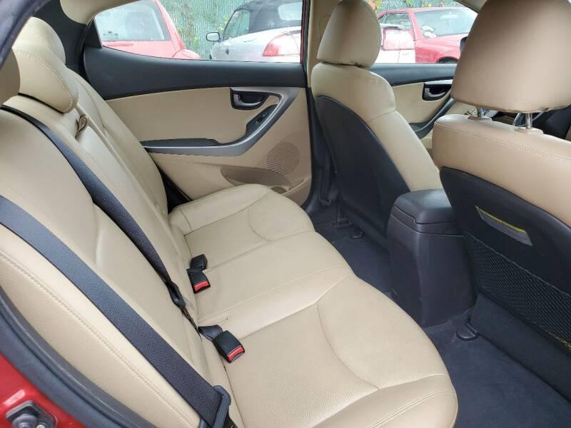 2012 Hyundai Elantra Limited 4dr Sedan - Chantilly VA
