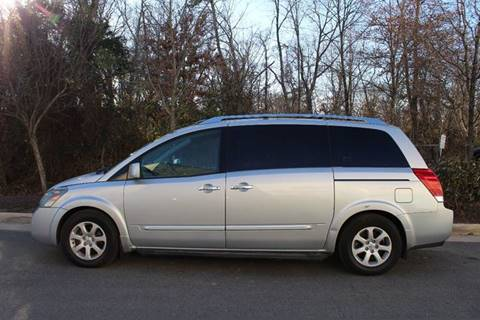 used 2007 nissan quest for sale in virginia. Black Bedroom Furniture Sets. Home Design Ideas