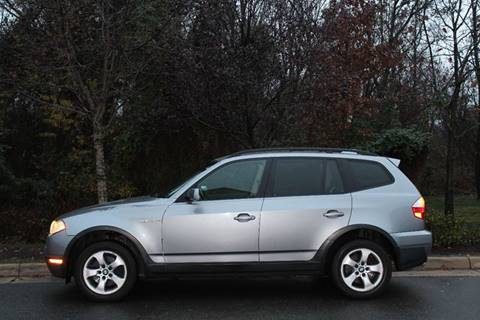 2007 BMW X3 for sale at M & M Auto Brokers in Chantilly VA