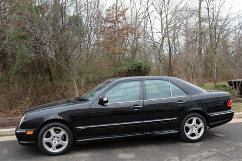 2002 Mercedes-Benz E-Class for sale at M & M Auto Brokers in Chantilly VA