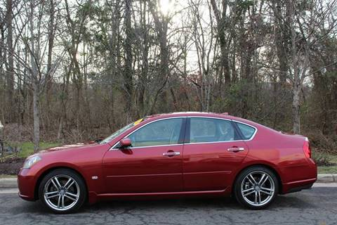 2006 Infiniti M45 for sale at M & M Auto Brokers in Chantilly VA