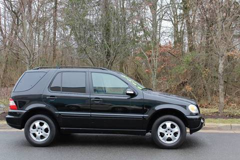 2002 Mercedes-Benz M-Class for sale at M & M Auto Brokers in Chantilly VA