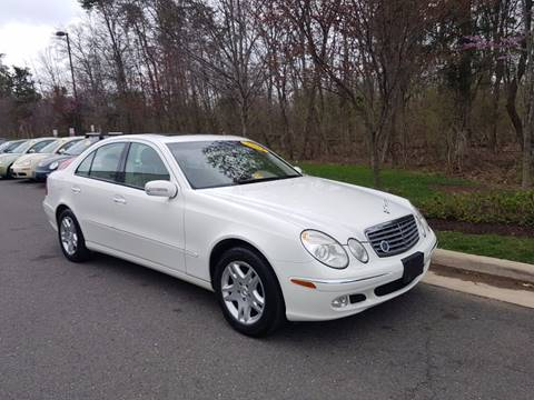 2004 Mercedes-Benz E-Class for sale at M & M Auto Brokers in Chantilly VA
