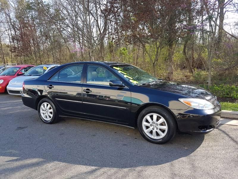 2003 toyota camry xle v6 4dr sedan in chantilly va m m auto brokers 2003 toyota camry xle v6 4dr sedan in