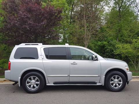 2006 Infiniti QX56 for sale at M & M Auto Brokers in Chantilly VA