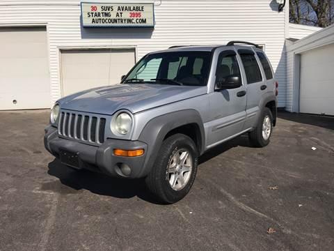 2002 Jeep Liberty for sale in Abington, MA
