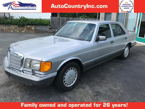 1991 Mercedes-Benz 350-Class for sale in Abington, MA