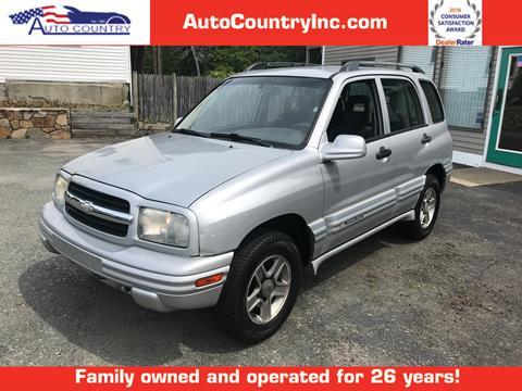 2004 Chevrolet Tracker for sale in Abington, MA