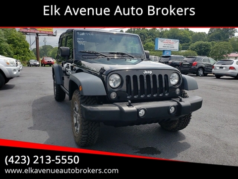 2015 Jeep Wrangler Unlimited for sale in Elizabethton, TN