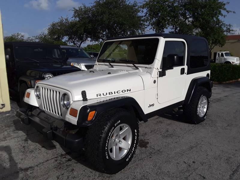 2005 Jeep Wrangler Rubicon 4WD 2dr SUV   Miami FL