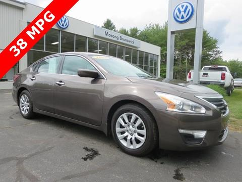 Marvelous 2013 Nissan Altima For Sale In Brunswick, ME