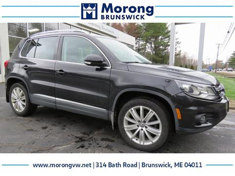 2016 Volkswagen Suv >> 2016 Volkswagen Tiguan For Sale In Brunswick Me