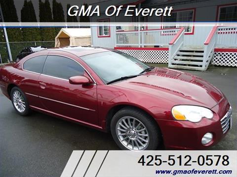 2003 Chrysler Sebring for sale in Everett, WA