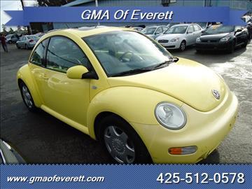 2001 Volkswagen New Beetle for sale in Everett, WA