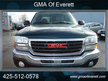 2005 GMC Sierra 1500 for sale at GMA Of Everett in Everett WA
