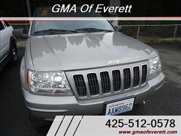 2002 Jeep Grand Cherokee for sale in Everett, WA