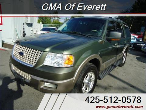 2003 Ford Expedition for sale in Everett, WA