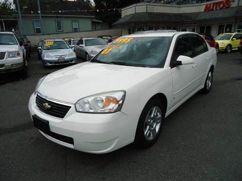 2007 Chevrolet Malibu for sale at GMA Of Everett in Everett WA
