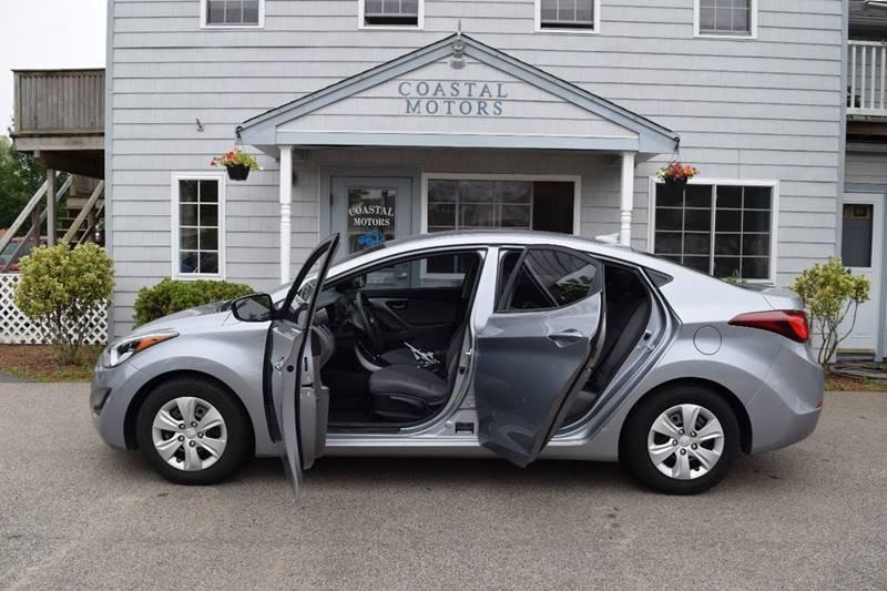 2016 Hyundai Elantra for sale at Coastal Motors in Buzzards Bay MA