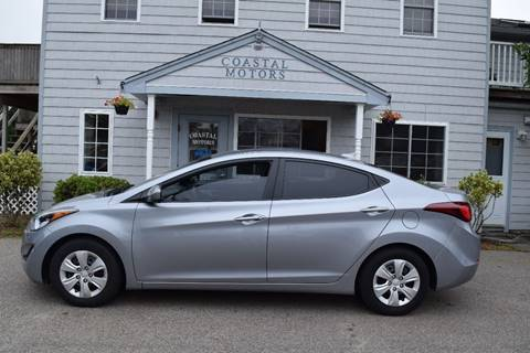 2016 Hyundai Elantra for sale at Coastal Motors in Buzzards Bay MA