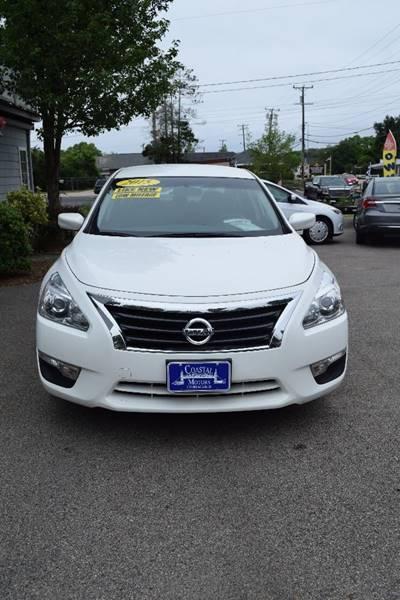 2015 Nissan Altima for sale at Coastal Motors in Buzzards Bay MA