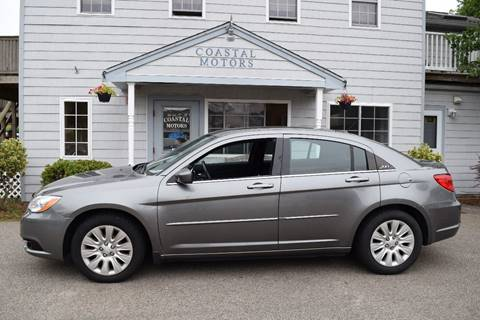 2012 Chrysler 200 for sale at Coastal Motors in Buzzards Bay MA