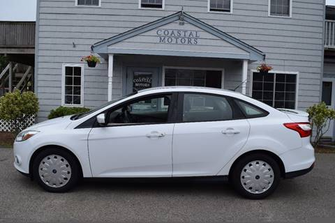 2012 Ford Focus for sale at Coastal Motors in Buzzards Bay MA