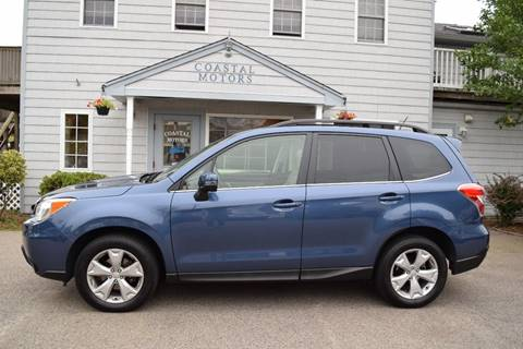 2014 Subaru Forester for sale at Coastal Motors in Buzzards Bay MA