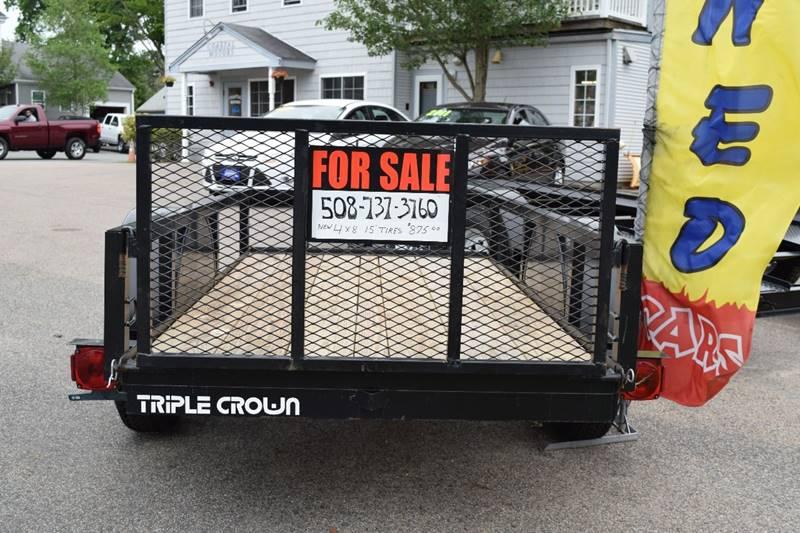 2016 Triple Crown 4x8 for sale at Coastal Motors in Buzzards Bay MA