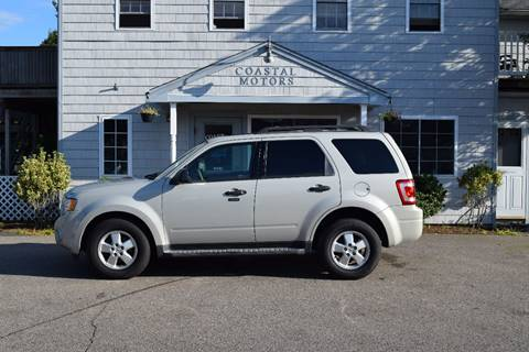 2009 Ford Escape for sale at Coastal Motors in Buzzards Bay MA