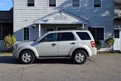 2009 Ford Escape for sale at Coastal Motors in Buzzards Bay MA