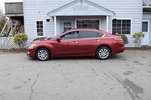 2015 Nissan Altima for sale at Coastal Motors in Buzzards Bay MA