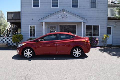 2012 Hyundai Elantra for sale at Coastal Motors in Buzzards Bay MA