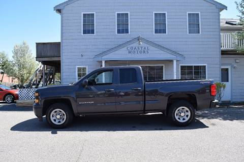 2015 Chevrolet Silverado 1500 for sale at Coastal Motors in Buzzards Bay MA