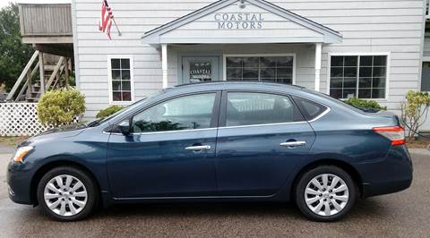 2013 Nissan Sentra for sale at Coastal Motors in Buzzards Bay MA