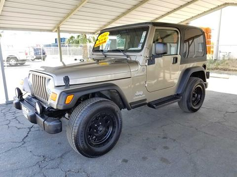 2004 Jeep Wrangler for sale in Bakersfield, CA