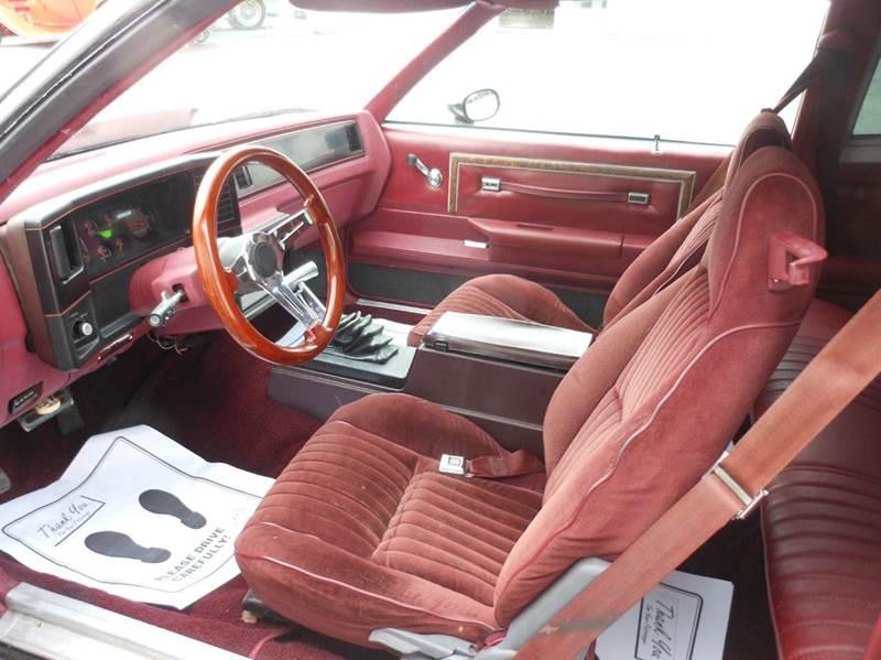 1983 Chevrolet Monte Carlo 2dr Coupe - Hermon ME