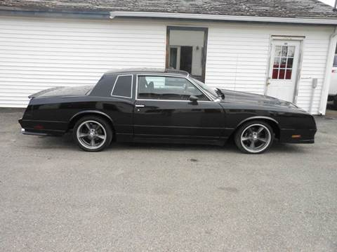 1983 Chevrolet Monte Carlo For Sale