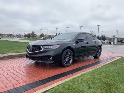 2018 Acura TLX for sale at BMW of Schererville in Shererville IN
