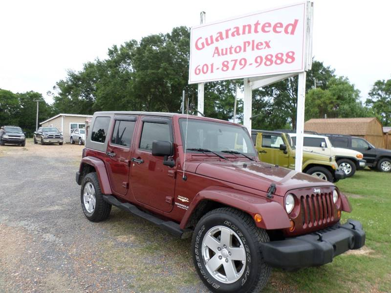 2007 Jeep Wrangler Unlimited Sahara 4dr SUV - Flora MS