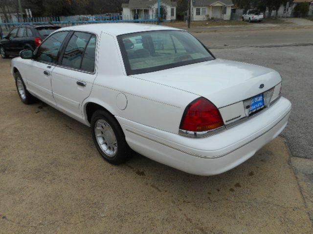 Ford Crown Victoria LX Dr Sedan In Dallas TX EASY CREDIT - 2001 crown victoria