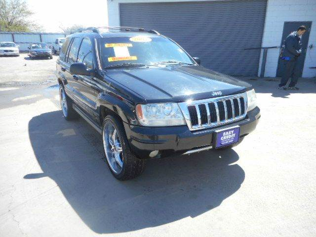 2004 jeep grand cherokee limited 4dr suv w ho v8 in dallas tx easy credit auto sales. Black Bedroom Furniture Sets. Home Design Ideas