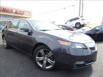 2013 Acura TL for sale in Waldorf, MD